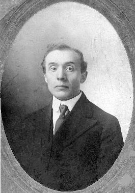 Photo of John Francis Caris about 1906