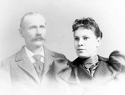 Picture of Richard Thomas Gardner and Hester Rebecca Mortgrage Gardner