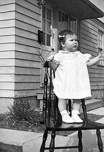 Picture of Sandra Lee Willis, age 9 months,  Aberdeen, Maryland April 1942