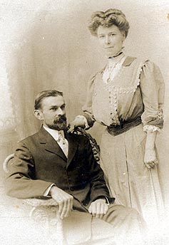 Picture of Edwin Rumbold Willis and Mabel Elizabeth Willis