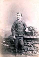 Picture of Frank H. Willis as a child