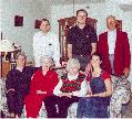 Picture of  L. Roy Willis, Jr. and family Christmas 2000