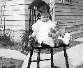 Picture of Sandra Lee Willis, Easter 1942