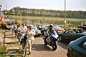 Picture of people getting off the ferry in Lottum, Limburg, Netherlands