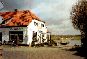 Picture of Veerhuis showing the ferry, Broekhuizen, Limburg, Netherlands